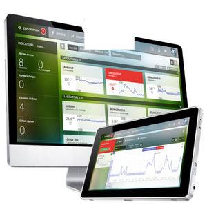 applicazione web di gestione / di monitoraggio / per registratore di temperatura