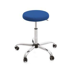sgabello per ambulatorio / ad altezza regolabile / con rotelle