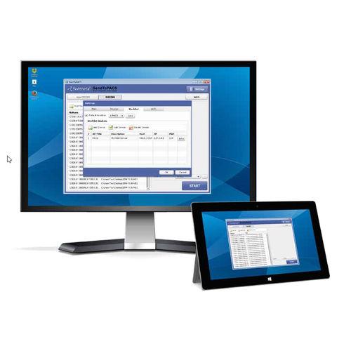 software di conversione di file DICOM / per PACS / per ospedale / medico