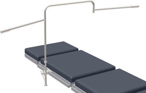 arco per anestesia per tavolo operatorio / articolato