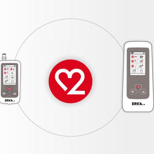 software per monitor della pressione arteriosa / di gestione dati / per comunicazioni / di misura