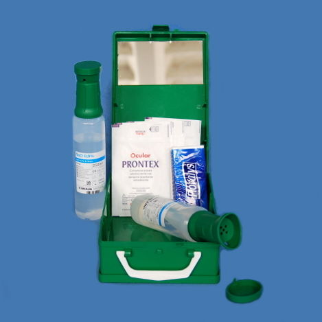 kit medico per lavaggio oculare
