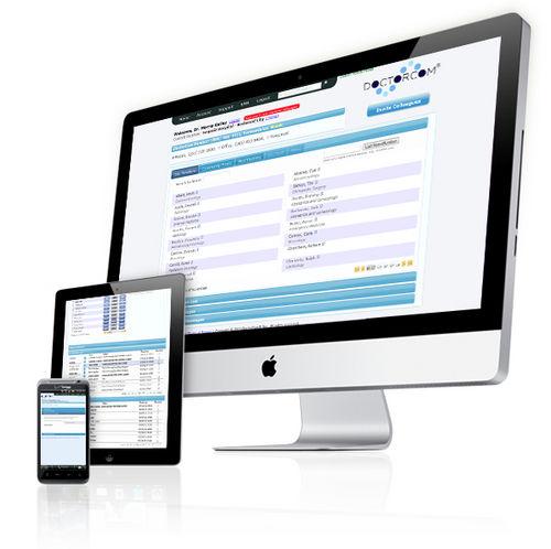 software di condivisione / per comunicazioni / di teleconsultazione / per tablet PC