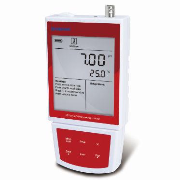 piaccametro da laboratorio / portatile / con elettrodo sostituibile