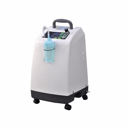 concentratore di ossigeno con rotelle