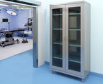 armadio contenitore / per strumenti / per farmaci / per prodotti chimici