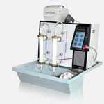 sistema di riprocessamento per dializzatore / di perossido d'idrogeno / di acido peracetico / da tavolo