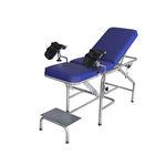 lettino da visita ginecologico / manuale / Trendelenburg / con schienale regolabile