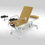 lettino da visita ginecologico / elettrico / ad altezza regolabile / con rotelle