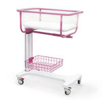 culla pediatrica ad altezza regolabile / Trendelenburg / anti-Trendelenburg / con rotelle