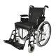 sedia a rotelle manuale / da esterno / da interno / con poggiagambe