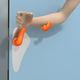 maniglia per porta di ospedale / in polipropilene / antibatterica / disinfettante