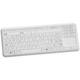 tastiera medicale con touchpad / USB / disinfettabile / lavabile
