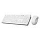 tastiera USB / senza fili / in silicone / igienica