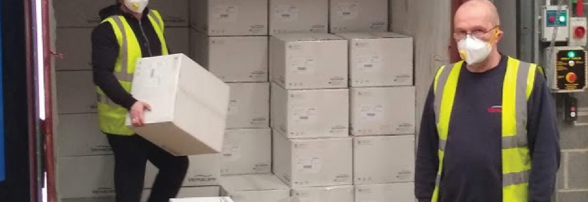 L'azienda di Bolton aiuta il piombo contro il Coronavirus
