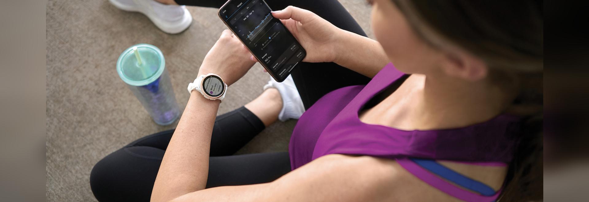 Garmin aggiunge capacità di monitoraggio della gravidanza agli orologi intelligenti