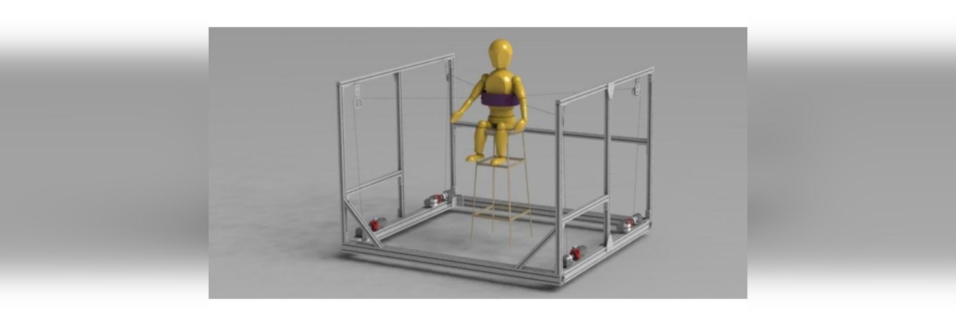 Gli ingegneri della Columbia inventano un istruttore robotico per le lesioni del midollo spinale