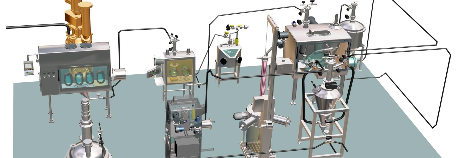 Scoprite i vantaggi di un impianto farmaceutico modulare, dalla movimentazione delle materie prime all'imballaggio finale