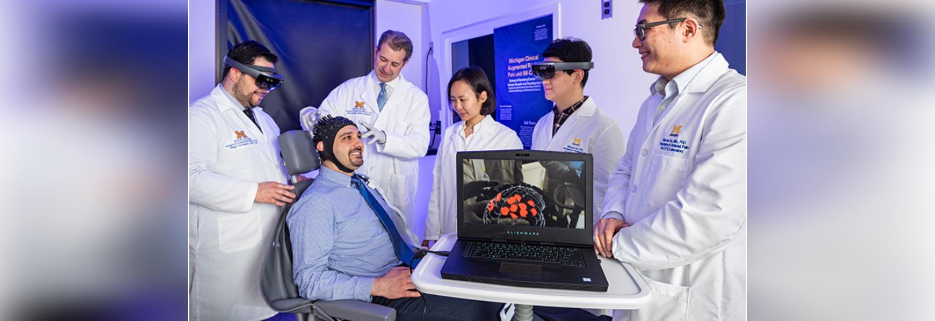 """Il sistema di realtà aumentata consente ai medici di """"vedere"""" il dolore del paziente"""