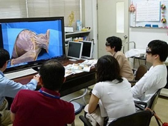 Una dissezione 3-D virtuale