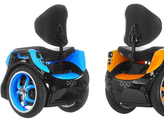 Evoluzione di Omeo 1 sedia a rotelle per le avventure fuori