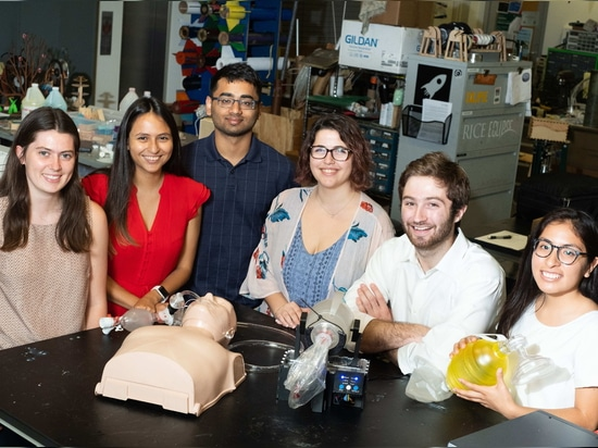 L'invenzione degli studenti dà ai pazienti il respiro della vita