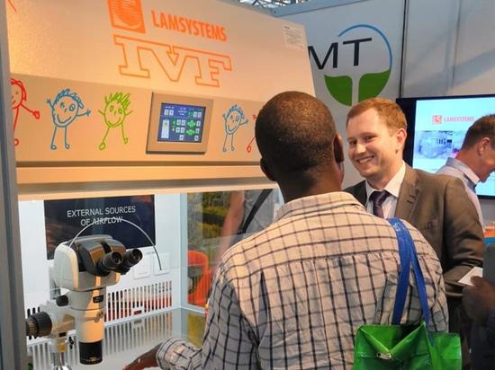 LAMSYSTEMS IVF Workstation alla conferenza ESHRE 2019