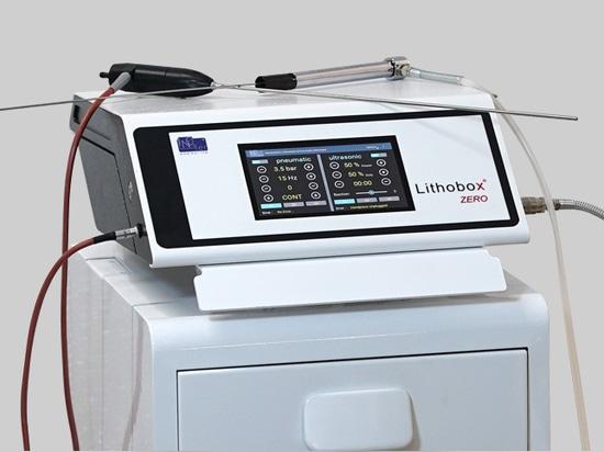 Lithobox ® Zero Lithotripter pneumatico ad ultrasuoni Zero