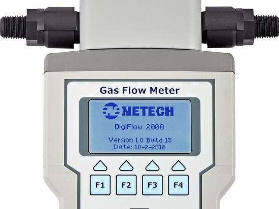 Netech Corp. Presenta i nuovi misuratori di portata del gas