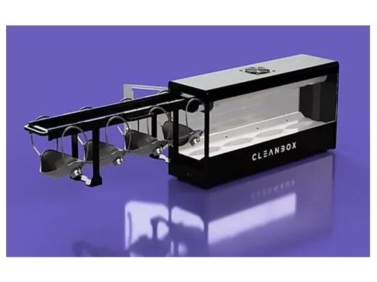 Cleanbox utilizza UVC per decontaminare 100 maschere chirurgiche all'ora