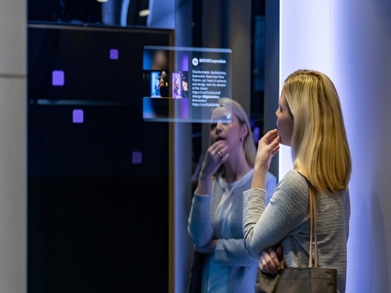 Gli ascensori Kone di classe DX hanno superfici antimacchia, antigraffio e antibatteriche.