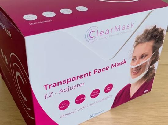 ClearMask, una maschera completamente trasparente e priva di nebbia che ha venduto oltre 12 milioni di unità