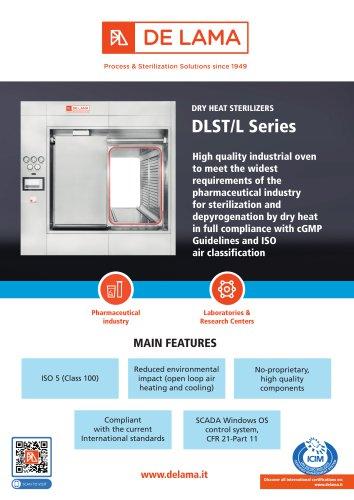De Lama: DLST-L - DHS Dry Heat Over for Sterilization and depyrogenation