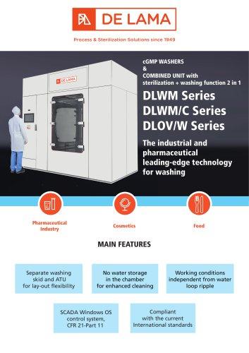 De Lama: DLWM cGMP industrial Washer