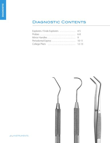 Diagnostic Contents