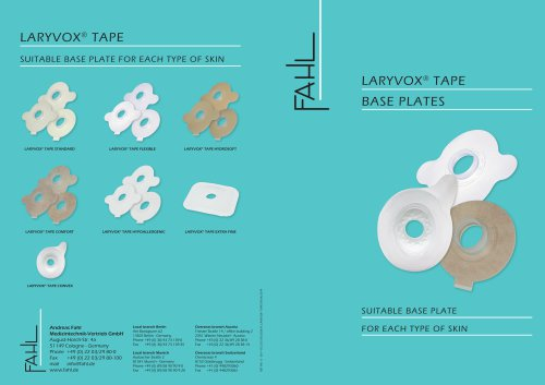 LARYVOX® TAPE