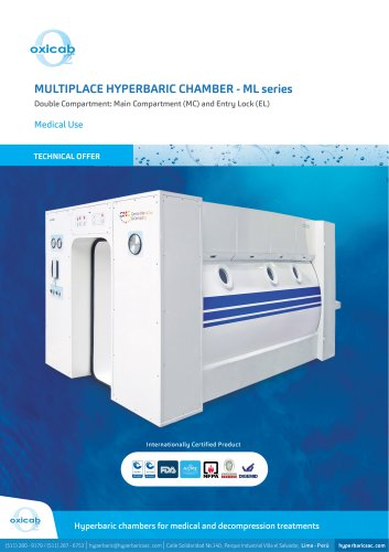 ML series Hyperbaric Multiplace Chamber