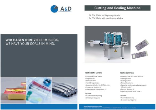 Cutting and Sealing Machine