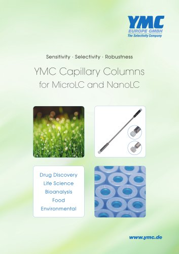 YMC Capillary Columns for MicroLC and NanoLC