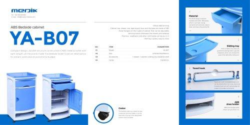 YA-B07 Medical Bedside Locker