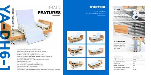 YA-DH6-1 Rotating chair bed