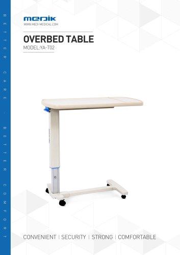 YA-T02 Hospital bedside table Medik