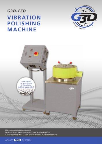 Vibrating Polishing Machine