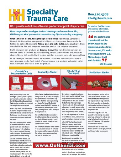 Specialty Trauma Products