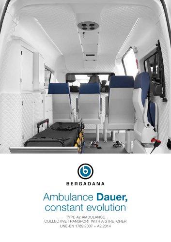 Ambulance Dauer, evolving (A2 type)
