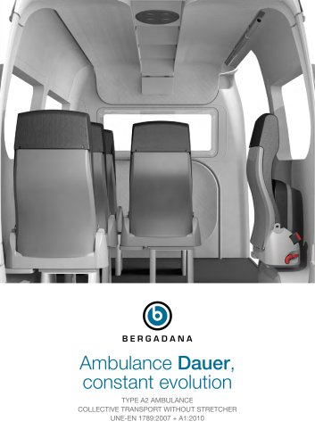 Ambulance Dauer without stretcher evolving (A2 type)