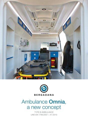 Ambulance Omnia, a new concept (type B)