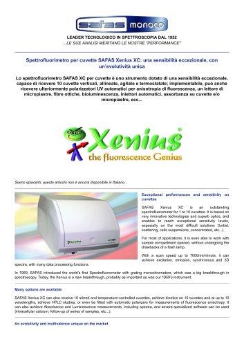 SAFAS Xenius XC