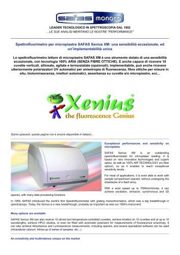 SAFAS Xenius XM