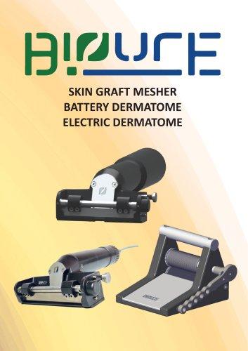 Skin Graft Mesher & Electric Dermatome